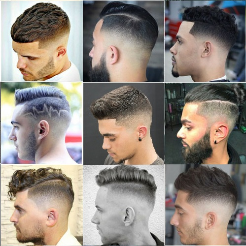 Bald Fade Haircut Style For Mens