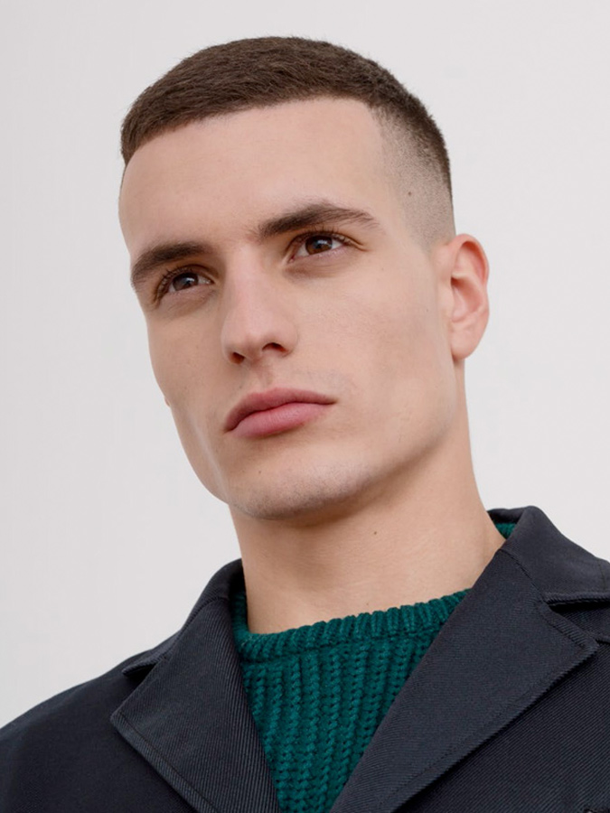 High and Tight Inspired Crew Cut