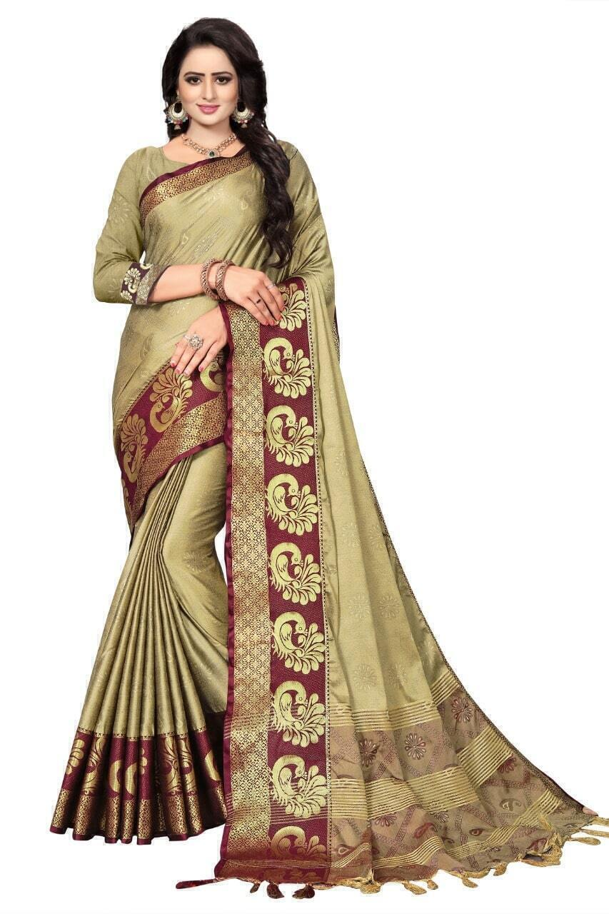 Mehndi Saree