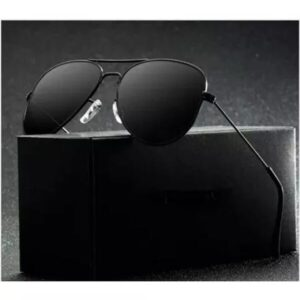 Black Aviator With Black Frame