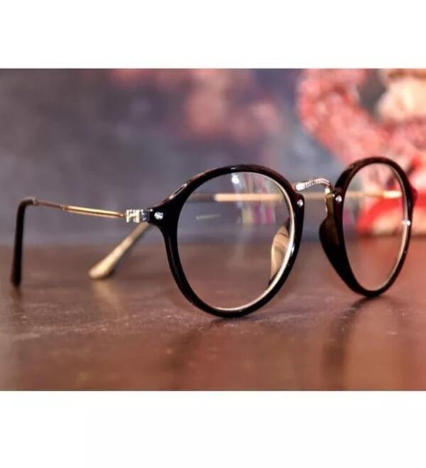 Round Clear Sunglasses