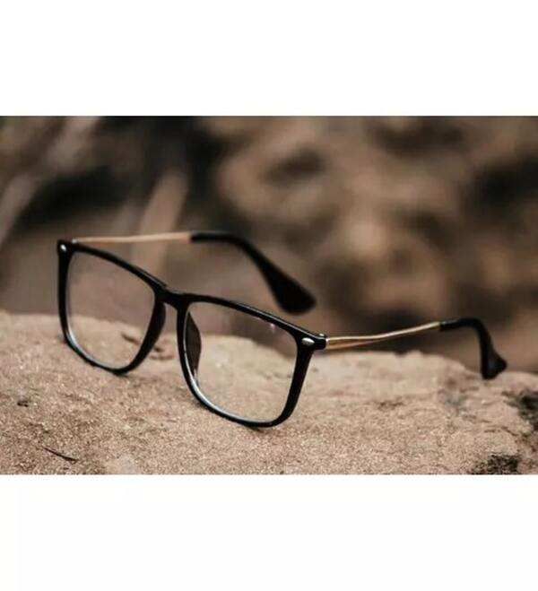 Fancy Square Clear Sunglasses