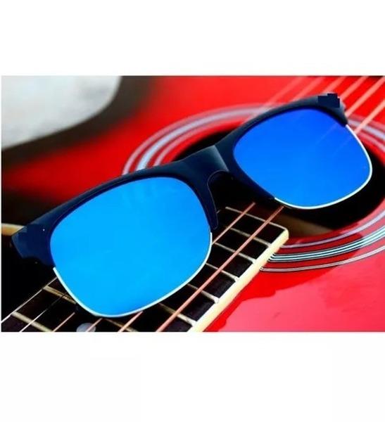 Blue Mercury Club Master Sunglasses